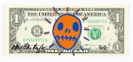On the money (orange + blue)