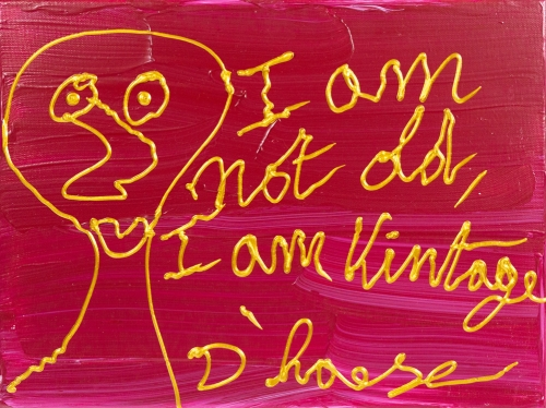 Hannes D'Haese - I am not old I am vintage