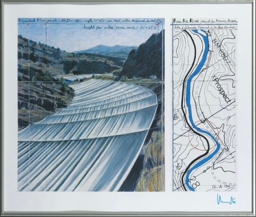 Christo Javacheff - Over the river