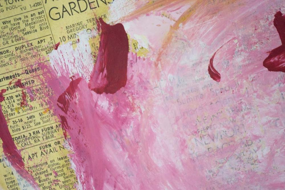 Now On Artauction Online Willem De Kooning Painting On Newspaper